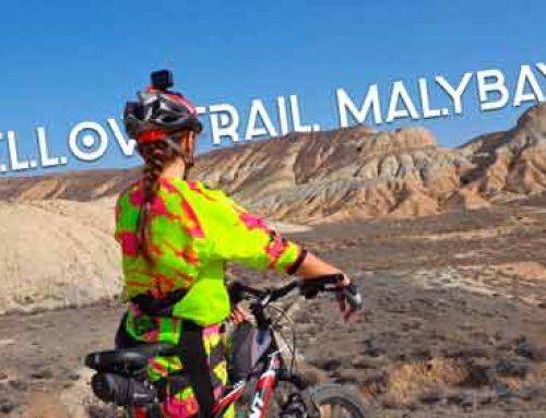 На велосипеде по урочищу Малыбай (Богуты)