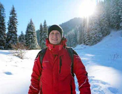 Иногда лучше уйти с пути и вернуться. Бутаковское ущелье и замерзший водопад без людей. Горы Алматы